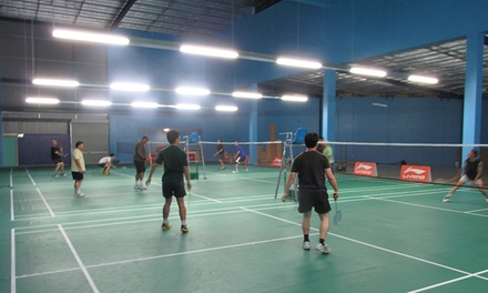 1hour badminton court hire  nz badminton centre  groupon