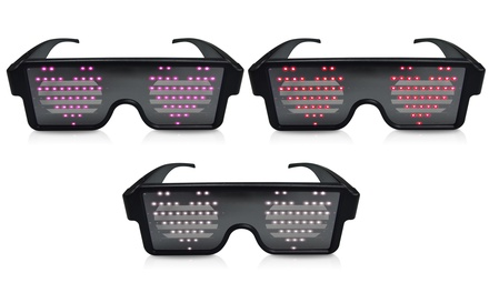 Gafas de fiesta Light Beats iDance