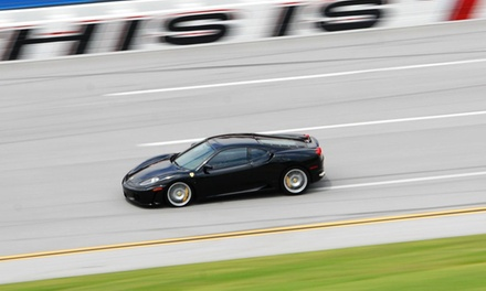 3-, 6-, or 9-Lap Stock-Car Race Experience from Dale Jarrett Racing Adventure (Up to 50% Off)