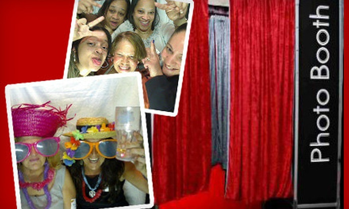 Party Animalz - Darien: $395 for a Three-Hour Photo-Booth Rental with Props, Unlimited Prints, and an Image CD from Party Animalz ($1,050 Value)
