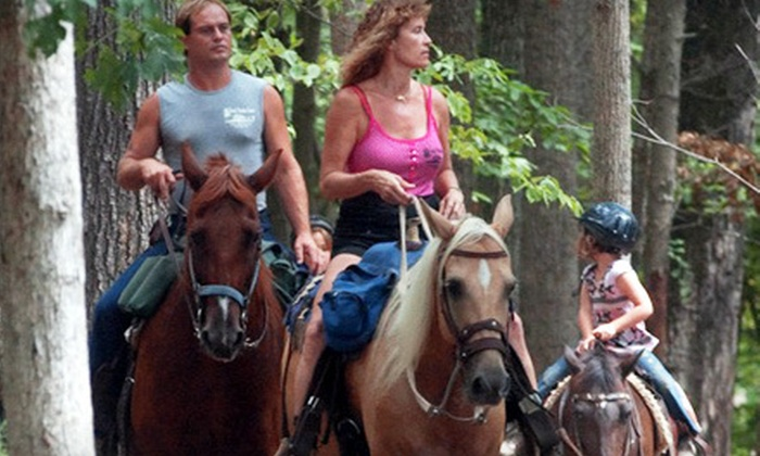 Dead Broke Farm - Raleigh: One-Hour Trail Ride or Children's Birthday Party for Up to 12 at Dead Broke Farm (Half Off)