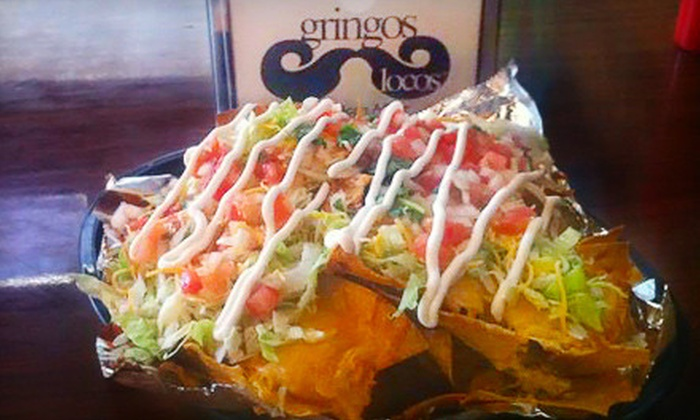 Gringos Locos - Central Business District: Mexican Meal for Two or Four at Gringos Locos (Up to 48% Off)