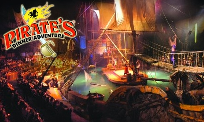 Pirate's Dinner Adventure - Buena Park: $29 for One General Admission Ticket to Pirate's Dinner Adventure in Buena Park (Up to $58.26 Value)