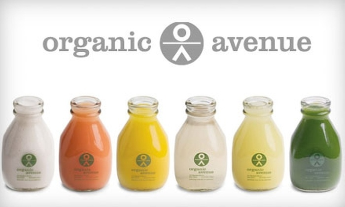 Organic Avenue - Multiple Locations: $125 for a Three-Day LOVE*deep Cleanse from Organic Avenue