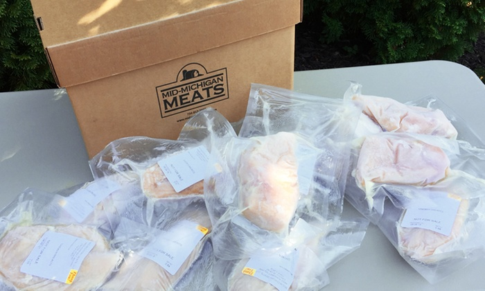 Mid-Michigan Meats - Detroit: $79 for 20-Pounds of Chicken Breast from Mid-Michigan Meats ($110 Value)