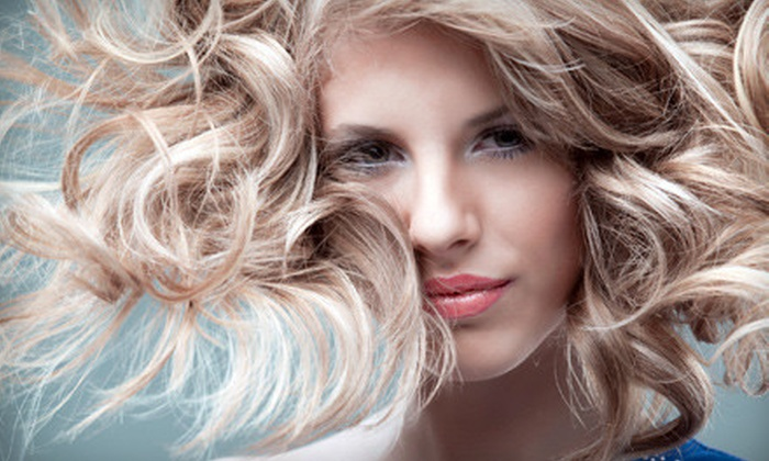 Jess Studio Salon - Charleston: $50 for Partial Highlights or Color, Haircut, Head Massage, and Facial Wax at Jess Studio Salon (Up to $110 Value)