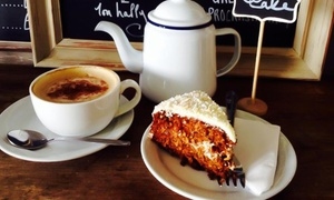 Lilliput Cafe: Homemade Cake with Tea or Coffee for One or Two at Lilliput Café (Up to 54% Off)