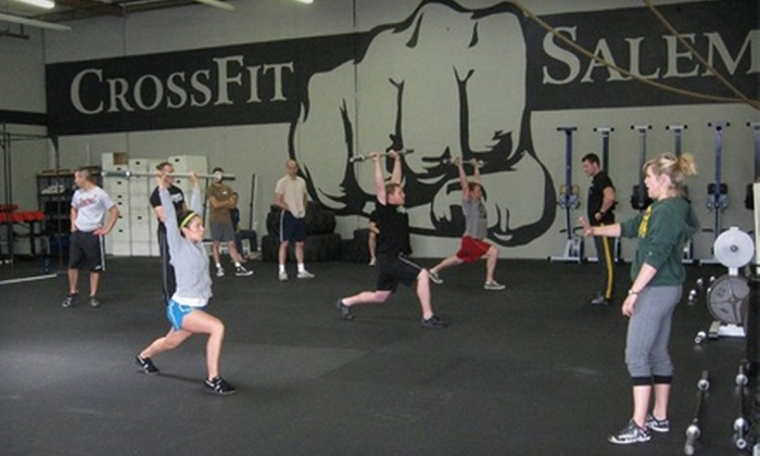 CrossFit Salem - Southeast Mill Creek: $49 for a 10-Class Punch Card at CrossFit Salem
