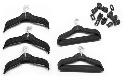 80-Piece Velvet Hanger Set