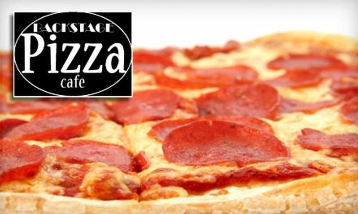 Backstage Pizza Cafe - West Hartford: $6 for $12 Worth of Pizza, Beer, and More at Backstage Pizza Cafe