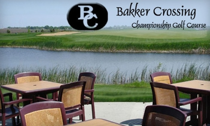 Bakker Crossing Championship Golf Course - Dell Rapids: $28 for Two Rounds of Golf at Bakker Crossing Championship Golf Course (Up to $58 Value)