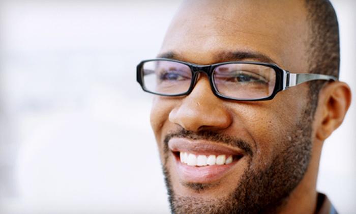 Urban Optik - Dechene: $47 for an Eye Exam and $200 Toward Prescription Frames and Lenses at Urban Optik (Up to $245 Value)