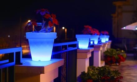 Vase lumineux multicolore LED Lumisky (SaintEtienne)