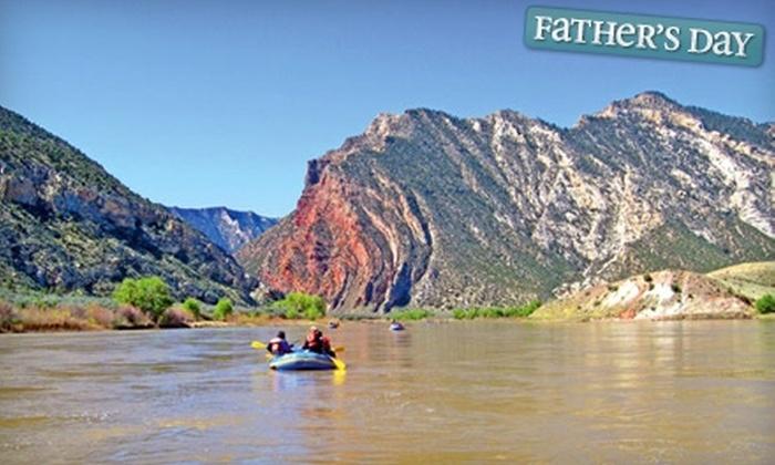 Adrift Adventures Salt Lake - Jensen: Four-Day Green River Rafting Trip from Adrift Adventures. Five Dates Available.