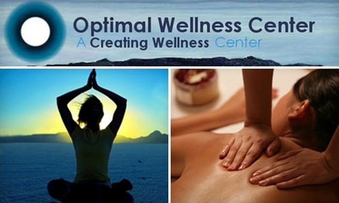 Optimal Wellness Center - Clay: Yoga Classes or a 60-Minute Massage at Optimal Wellness Center. Choose Between Two Options.