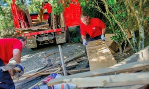 Junk King of Fairfax: $149 for 1/6 of a Truck of Junk Removal from Junk King of Fairfax ($248 Value)