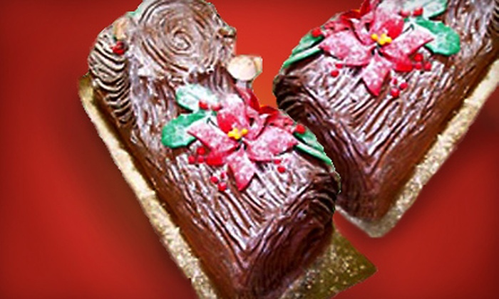 Margaret's French Bakery - Willow Glen: Two or Three Holiday Cakes at Margaret's French Bakery (Up to 54% Off)