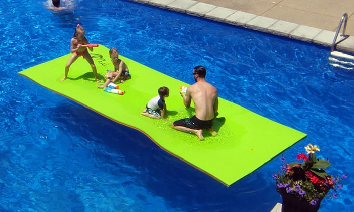 Up To 29% Off on Floating Mat 8 people for Swimming Pool or ...