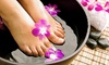 Mani-Pedi, Nail Application or Reflexology