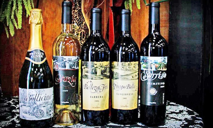 Sorelle Winery - Stockton: $25 for a Wine Tasting with Chocolate for Two, One Bottle of Pinot Grigio, and One Bottle of Barbera at Sorelle Winery ($51 Value)