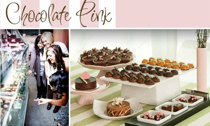 Chocolate Pink Pastry Cafe - Midtown: Gourmet Cupcakes, Full-Sized Cakes & More at Chocolate Pink