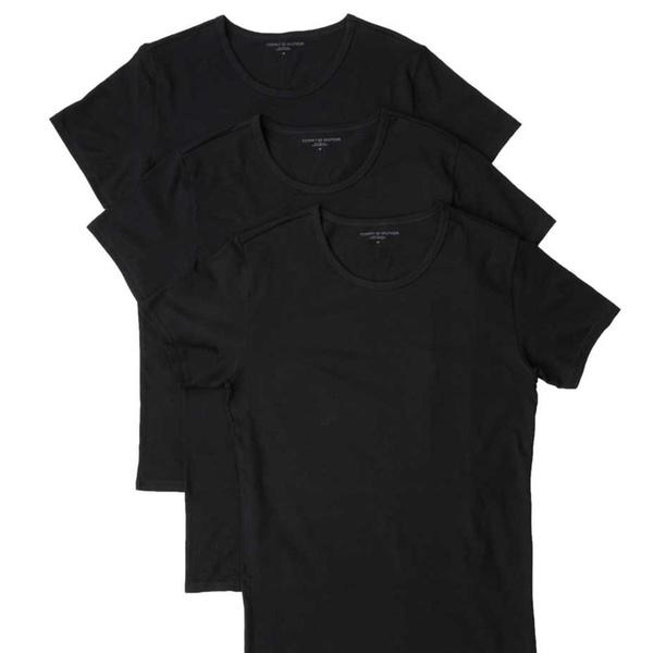 3 T shirt da uomo Tommy Hilfiger, disponibili in 3 set di colori e varie taglie