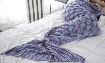 Jade and Juliet Mermaid Tail Blanket (Shipping Included)