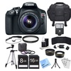 Canon EOS Rebel T6 18MP 1080p DSLR Single-Lens Bundle