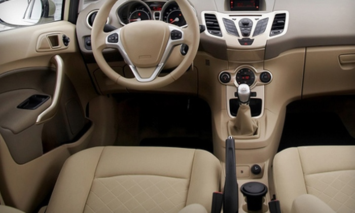 Mobile Detailing Co. - Salt Lake City: $18.75 for an Auto-Interior Steam Cleaning from Mobile Detailing Co. ($35 Value)