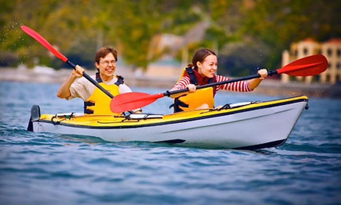 San Francisco Kayak & Adventures - Multiple Locations: Two-Hour Guided Kayak Tour for One or Two from San Francisco Kayak & Adventures (Up to 55% Off)