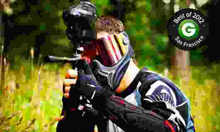 Midway Paintball Facility - Vacaville: $35 for an All-Day Paintball Outing for Five at Midway Paintball Facility in Vacaville ($200 Value)