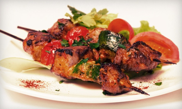 Saray Restaurant - Coolidge Corner: $20 for $40 Worth of Turkish Cuisine for Two at Saray Restaurant