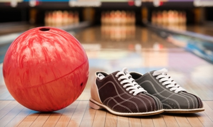 Tropicana Lanes - Richmond Heights: $15 for Bowling Package for Two Including Four Games, Two Shoe Rentals, Two Small Soft Drinks, and Two Hot Dogs at Tropicana Lanes in Richmond Heights ($30.50 Value)