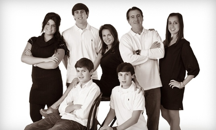 """Romaguera Photography - New Orleans: $49 for a 30-Minute In-Studio Family Photo Session, One 11""""x14"""" Retouched Print, and Two 5""""x7"""" Prints from Romaguera Photography in Metairie ($297 Value)"""