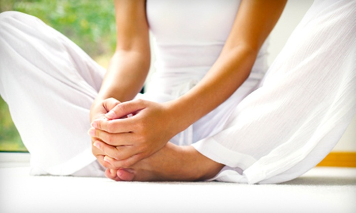 Stress Less Yoga - Multiple Locations: $39 for One Month of Unlimited Classes at Stress Less Yoga ($150 Value)