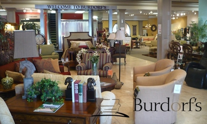 Burdorf's Furnishings & Flooring - Louisville: $50 for $150 Worth of Furniture at Burdorf's Furnishings & Flooring