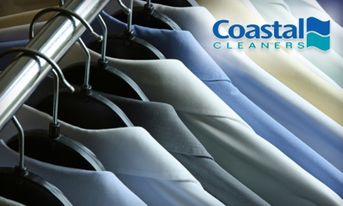 Coastal Cleaners - Multiple Locations: $10 for $20 Worth of Dry-Cleaning and Laundry Services at Coastal Cleaners