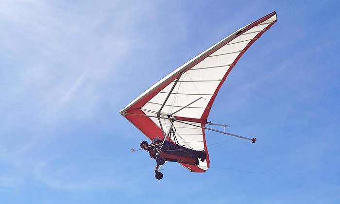 Cowboy Up Hang Gliding - Houston : $99 for an Introductory Flight from Cowboy Up Hang Gliding ($149 Value)