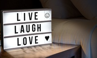 Globrite Cinematic Lightbox in Choice of Size from £11.99 with Additional Characters from £17.99 (Up to 60% Off)