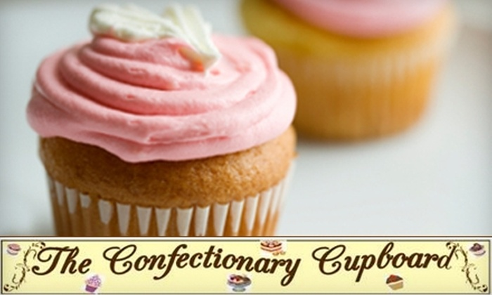 The Confectionary Cupboard - Willoughby: $15 for a Dozen Specialty Cupcakes at The Confectionary Cupboard in Willoughby ($30 Value)