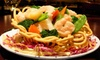 Chef's Experience China Bistro - Hayward: Chinese Meal for Two or $15 for $30 Worth of Chinese Cuisine at Chef's Experience China Bistro in Hayward