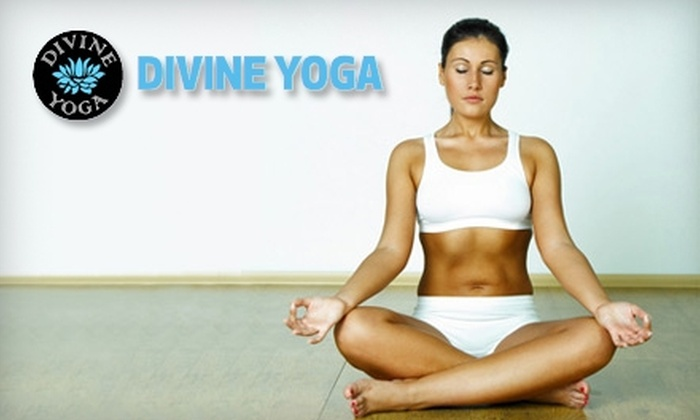 Divine Power Yoga - Fall River: $60 for One Month of Unlimited Yoga at Divine Yoga in Fall River