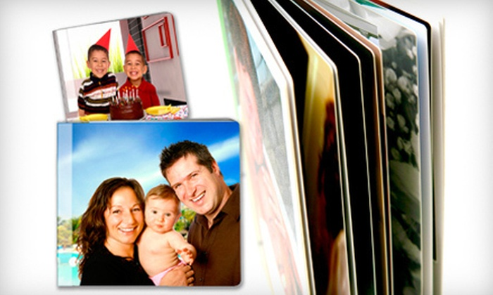 """Core Albums: 5""""x5"""" or 8""""x8"""" 14-Page Photobook from Core Albums (Up to 79% Off)"""