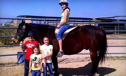 Silver Rein Horsemanship: Children's Pony Ride - Centoz Ranch in Queen Creek