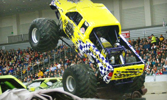 Amp Tour's Thunder Slam Monster Truck Spectacular - El Paso: One VIP Ticket to Thunder Slam Monster Truck Spectacular at El Paso Coliseum on January 13 (Up to $25 Value)