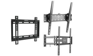 "Emerald Fixed, Tilt, or Full Motion Wall Mounts for 23""–75"" TVs"