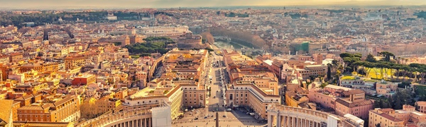 ✈ 8-Day Paris and Rome Vacation with Air from go-today