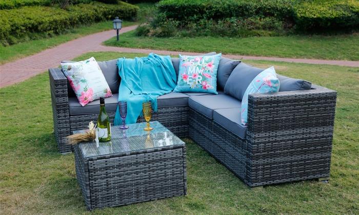 Sicily Garden Furniture Yakoe sicily outdoor set groupon yakoe sicily outdoor set workwithnaturefo