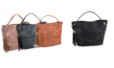 Women's Detailed Shoulder Bag in Choice of Colour