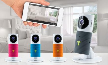 Sinji Smart Wifi-Kamera in Farbe der Wahl, optional mit Verbatim 32 GB Micro SD Card(bis zu 64% sparen*)